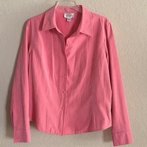 Talbots peachy-pink jacket